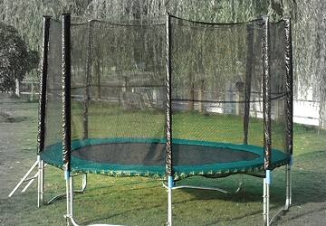 What preparations do you need to make a trampoline?